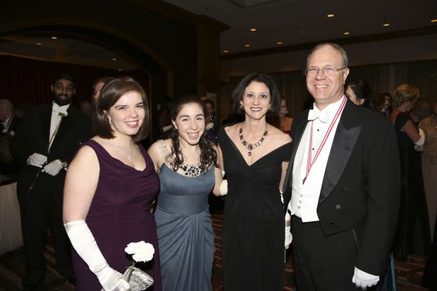 Madeline, Emily, Veronica and Jeff McDonnell