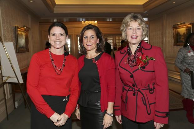 Cristina McCormick, Sue Hensley, Sharon Kramer