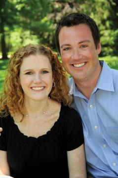 Laura Guest and Brett Scheland