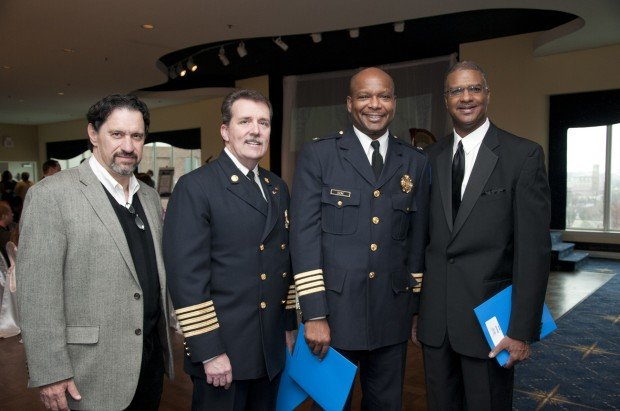 Peter Katsines, Chief Dennis Jenkerson, Chief Dan Isom, Everett Horne