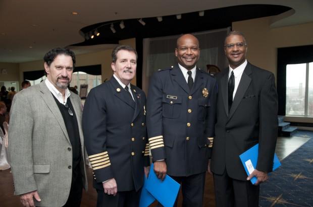 Peter Katsines, Chief Dennis Jenkerson, Chief Dan Isom, Everett Horne