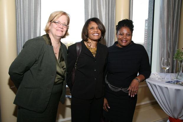 Susan Rowe, Janice Thomas, Erika Sandiford