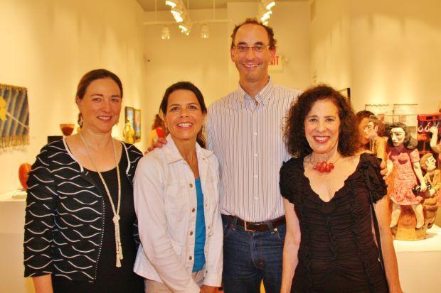 Nancy Yawitz, Bev and Marc Diamond, Sandy Kaplan