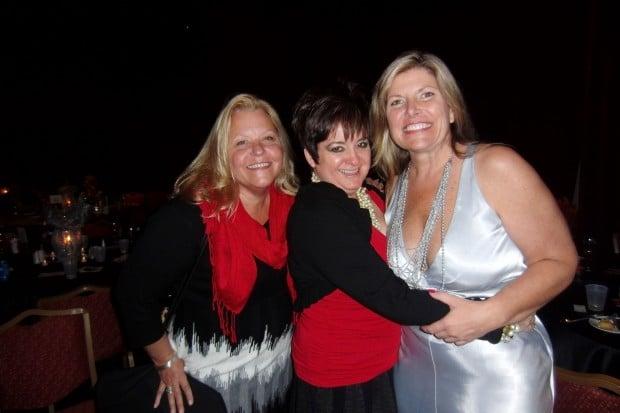 Sandy Elfrink, Terri Williams, Barb Tippett