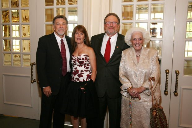 Tom and Chris Eschen, Dr. Mark Lombardi, Norma Stern