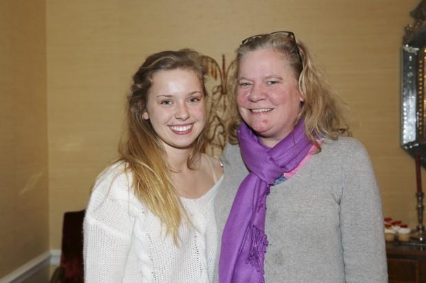 Lucie and Debbie Baldwin