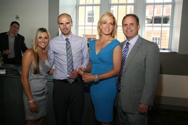 Brittany and Dr. John Nay, Ann Sutter, John Siefert