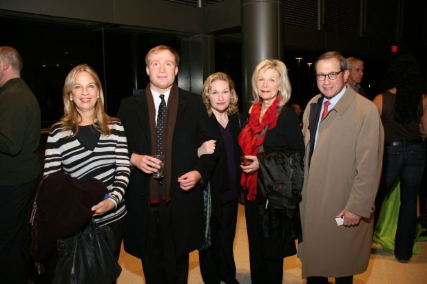 Susan Reinglass, Peter, Monica, Noemi and Michael Neidorff