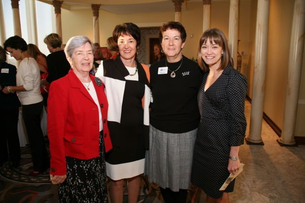 Nancy Gorman, Dr. Mary Jo Gorman, Pearl Scheve, Lori Drury
