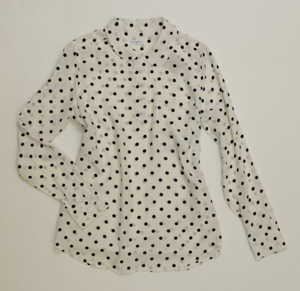 trend Equipment blouse, $238, Vie