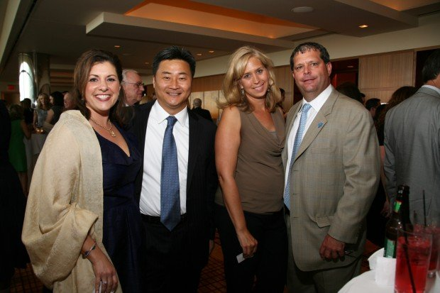 Kate and Sung Han, Alisa and Dan Kelly