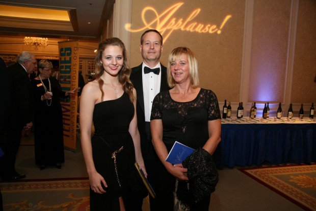 Jennifer, Mike and Madeline Sullivan