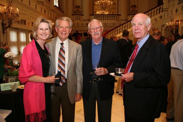 Julie and Ed Glotzbach, Martin Kerckhoff, Bill Gay