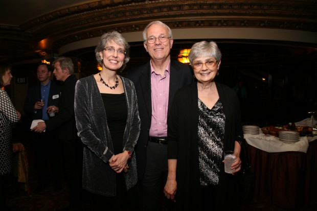 Kathryn Ballard, Paul Reuter, Janet Brown