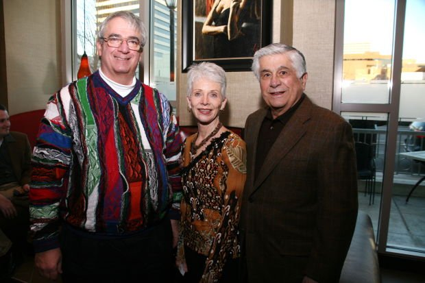 Dr. Bob Bergamini, Phyllis and Joe Fresta Sr.
