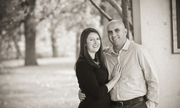 Allison Walsh and Michael Gras