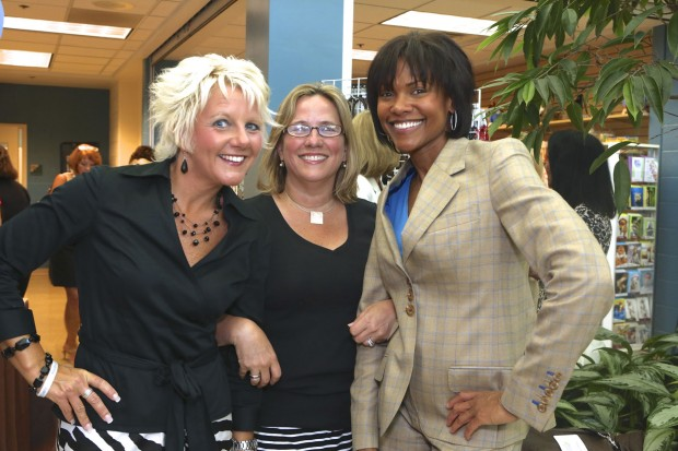 Tricia Stecher, Carol Butler, Lisa Burgess