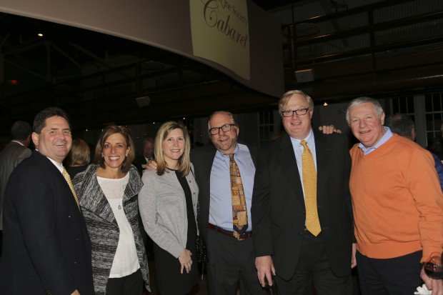 Larry and Sharon Carrico, Kelly Harbaugh, Dr. Joseph Olk, Rich Rafuse, Bob Menendez