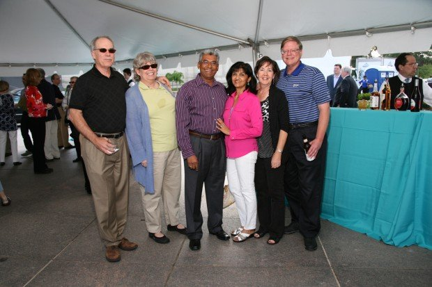 John and Kathryn Campbell, Dewan and Nalini Prashad, Marie and Gary Schroeder