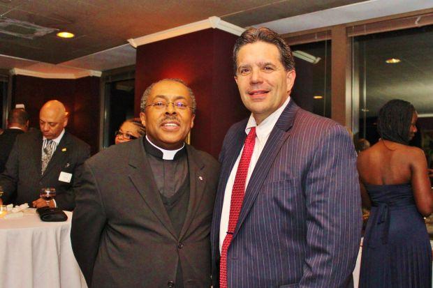 Fr. Art Cavitt, Dr. Robert Oliveri