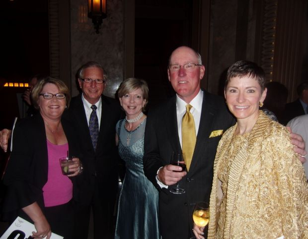 Shelia Timm, Robert and Jodi Gay, Mike Fidler, Penny Pennington