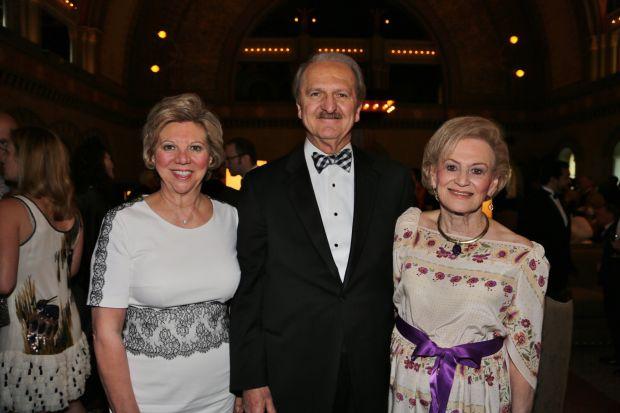 Marsha and Bill Rusnack, Joan Quicksilver