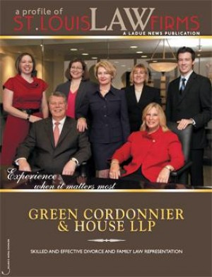 St. Louis Law Firms Cover Story: Green Cordonnier & House