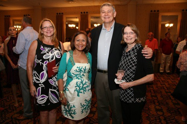 Therese Mattli, Rowena Bennett, Dave and Anna Tucek