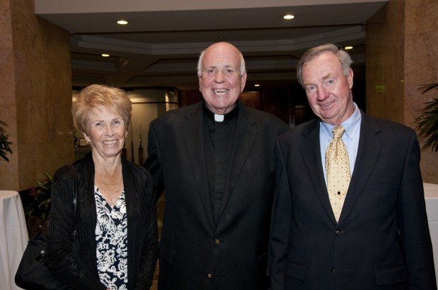 Carole Schaefer, Rev. Gene Brennan, Ron Schaefer