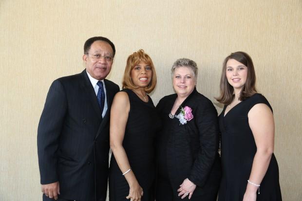 Henry Simms, Johnetta Carver, Debbie Schirmer, Hope Schirmer