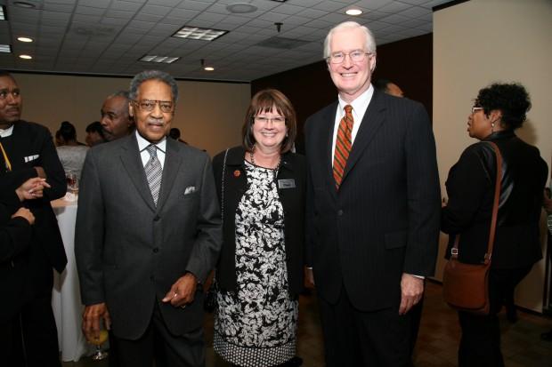 Dr. Henry Givens, Frankie Eichenberger, Ed Higgins