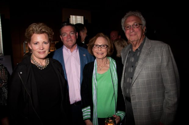 Susan and Michael Scully, Lillian and Jack Bolozky