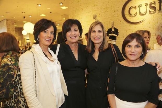 Debi Mehlman, Boobie Light, Kim Rich, Linda Holtzman