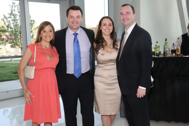 Caitlin and Evan Murphy, Jennifer and Phil Toben