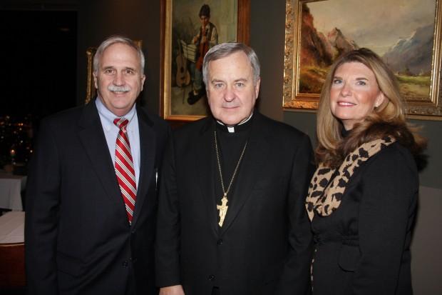 Tim Conway, Archbishop Robert Carlson, Diane Conway