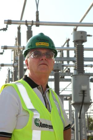 Tom Voss & Maureen Borkowski Tour Central Substation