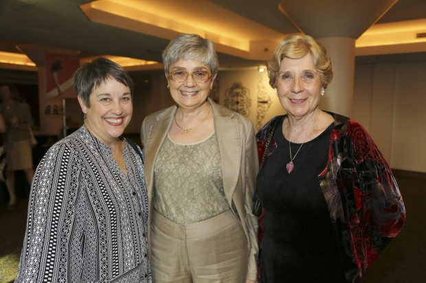 Carol North, Janet Brown, Lynn Rubright