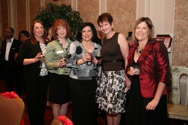 Diane Mehelic, Donna Erbs, Tanina Santangelo, Theresa Nikolaus, Lorrie Rippelmeyer