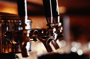 Beer taps