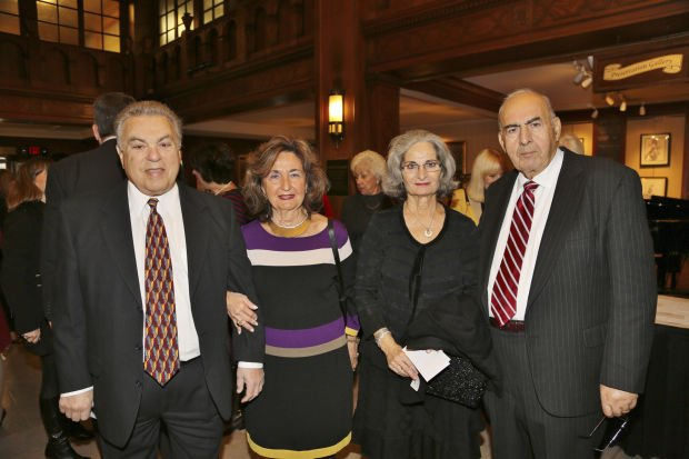 George and Marie Kantis, Eleftheria and Steve Afentoullis