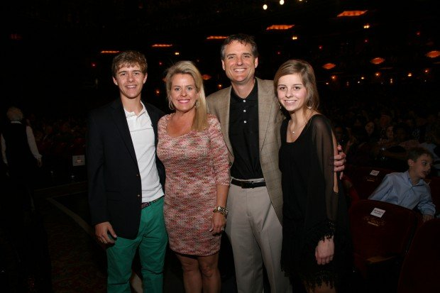 Clayton, Sharon, Todd and Alexis Hamby