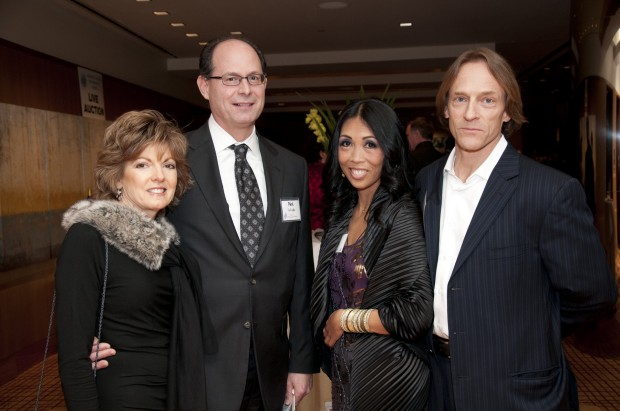 Sherry and Nick Fafoglia, Maria Briggs, Paul Cunningham