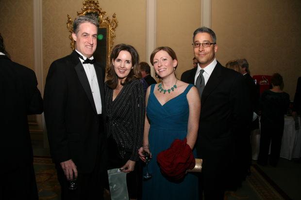 Brett and Jennifer Moorehouse, Sara Howard, Tony Wyche