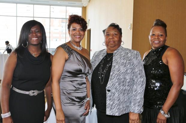 Sharon Grant, Marilyn Gooch, Janet Horton, Yolanda Harris