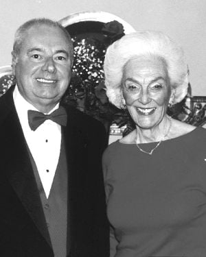 Dr. Donald Flanagan and Norma Stern