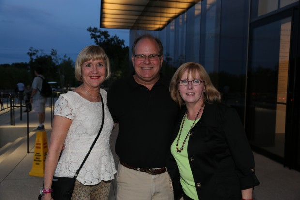Sally Pinckard, Arthur and Cindy Fishel