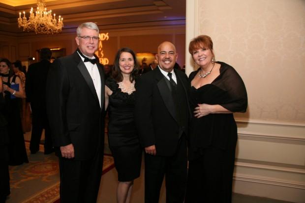 Dan and Sylvan Schulz, Paula Berner, Gilbert Medina