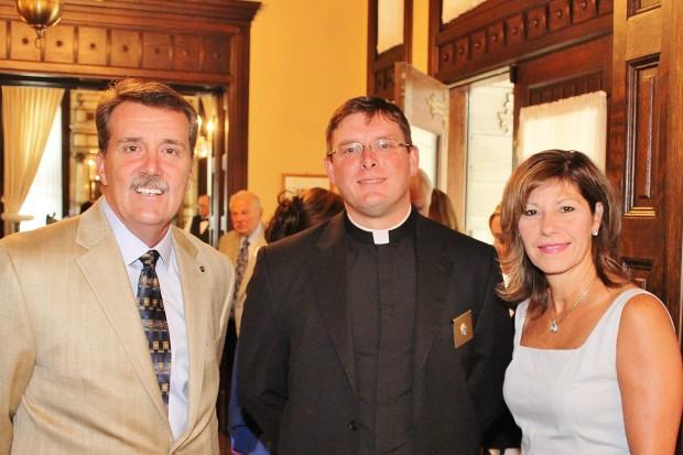 Dennis Jenkerson, Fr. Joe Post, Michelle Jenkerson