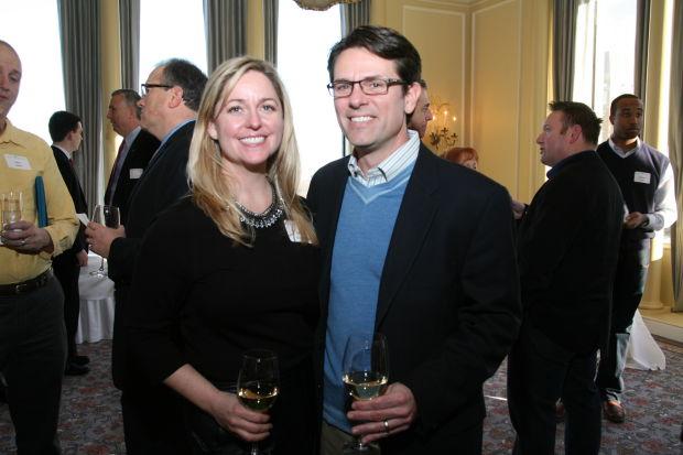 Bridget and Chris Scaglione