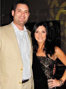 Kara Klund and Brian Hoders